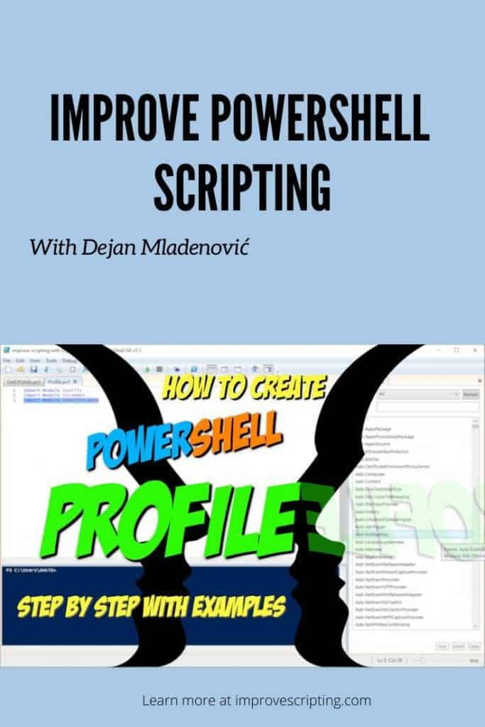 How To Create PowerShell Profile Step by Step with Examples Pinterest