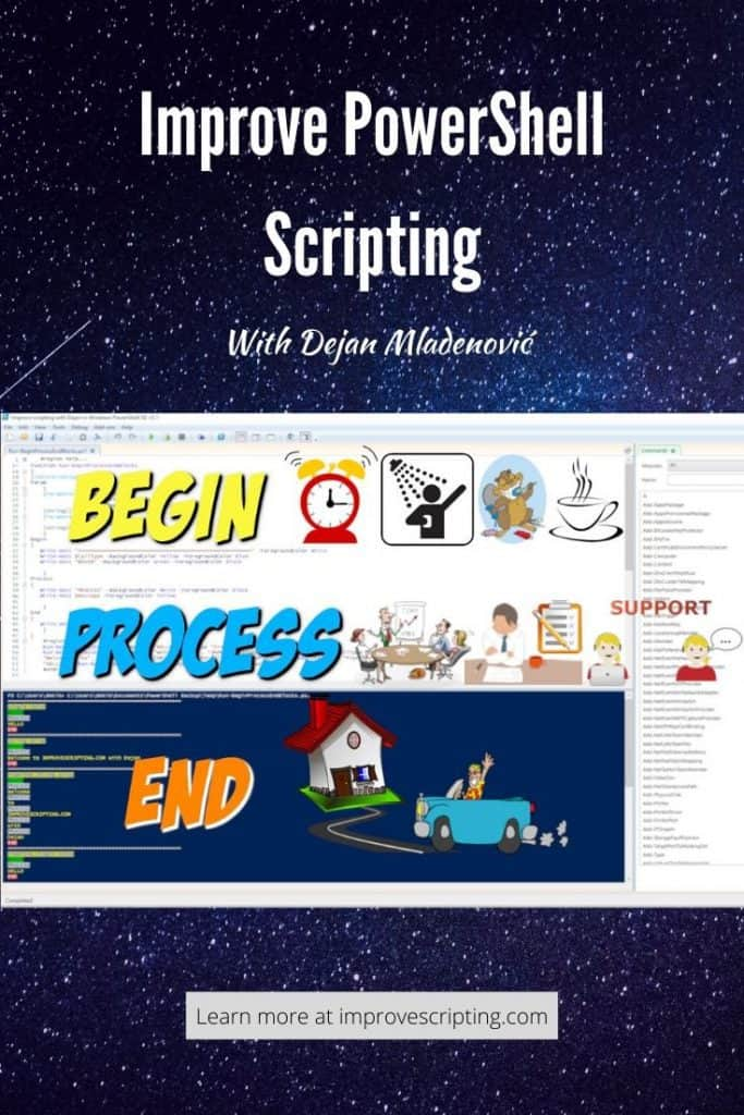 PowerShell Function Begin Process End Blocks Explained With Examples Pinterest