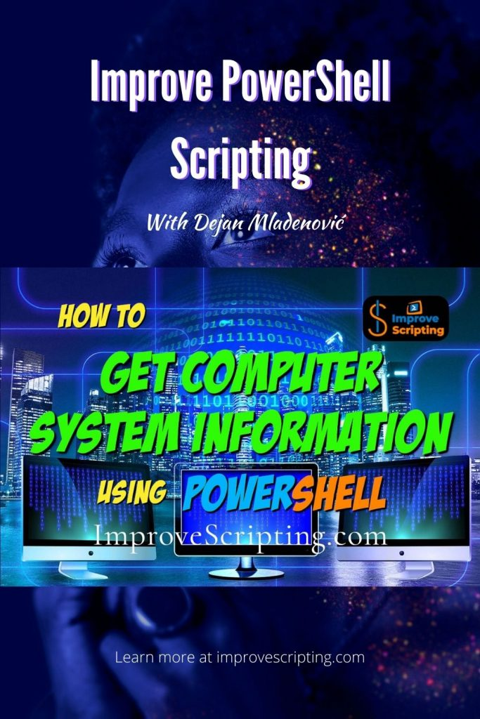 How To Get Computer System Information Using PowerShell